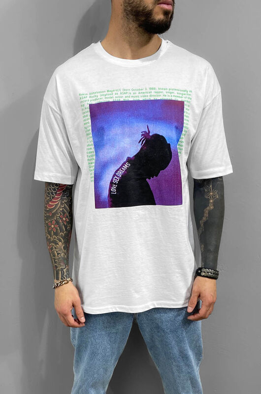 Black Island - ASAP PRINTED WHITE 1205