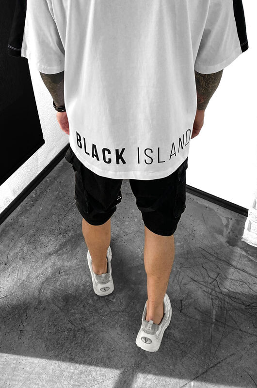 BLACK ISLAND WHITE T-SHIRT 1122 (3)