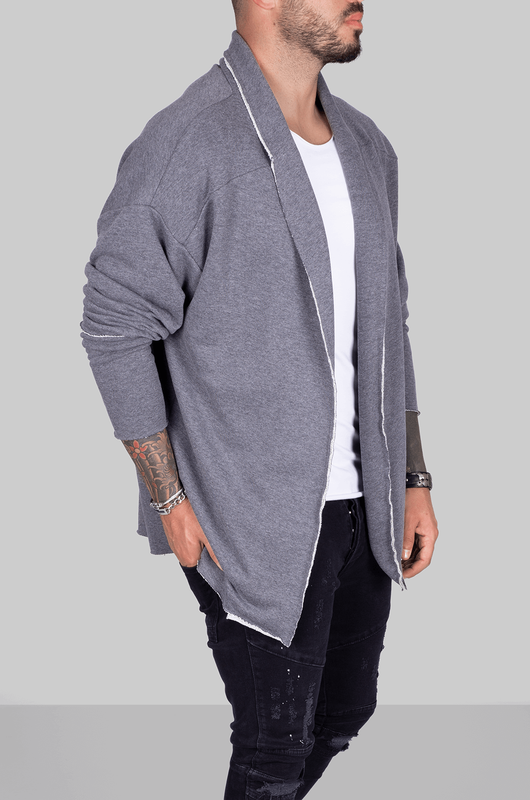 Black Island - LONGSLEEVES PANCHO ANTHRACITE 1033 (1)
