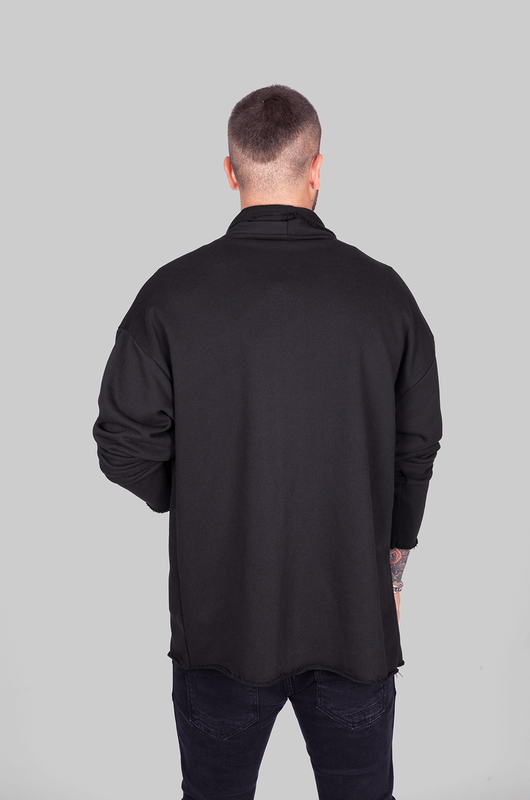 Black Island - LONGSLEEVES PANCHO BLACK 1033 (1)