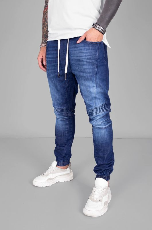 DENIM JOGGER PANTS BLUE 5384 (1)