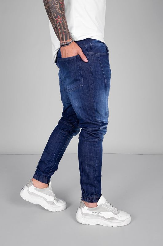 - DENIM JOGGER PANTS BLUE 5384 (1)
