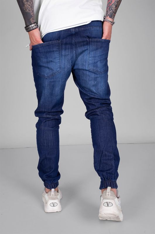 DENIM JOGGER PANTS BLUE 5384 (3)