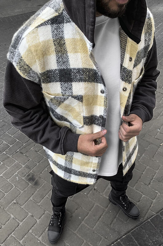 FLANNEL JACKET BONE 5870 (4)