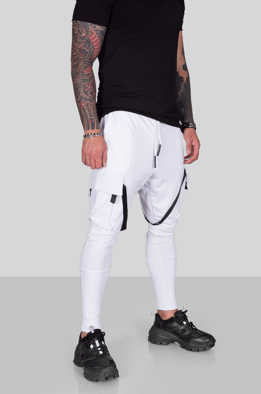 URBAN JOGGER PANTS WHITE 1975 (4)