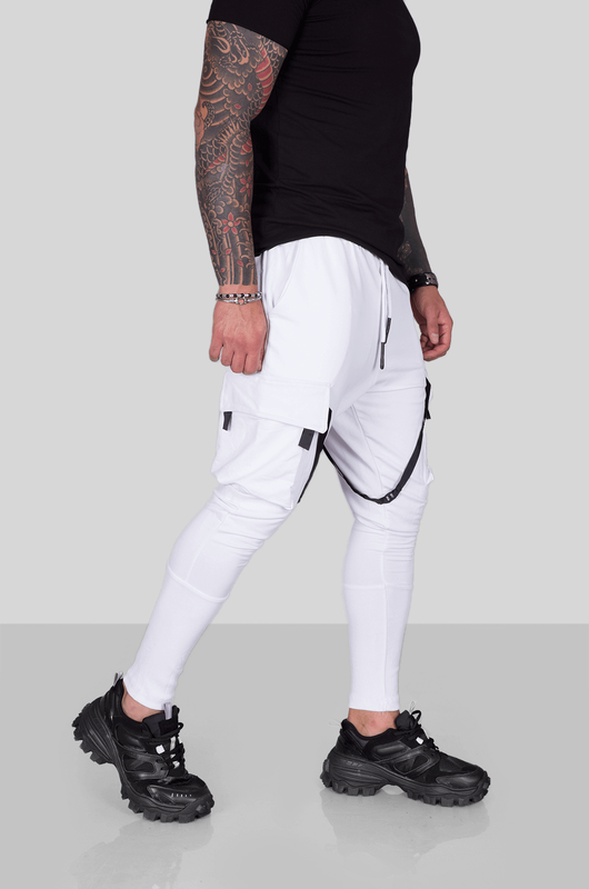 URBAN JOGGER PANTS WHITE 1975 (2)