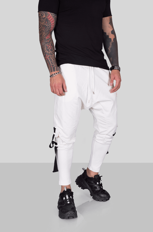 URBAN JOGGER PANTS WHITE 2008 (3)