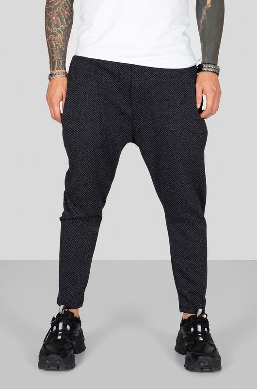 URBAN JOGGER PANTS BLACK 2311 (4)
