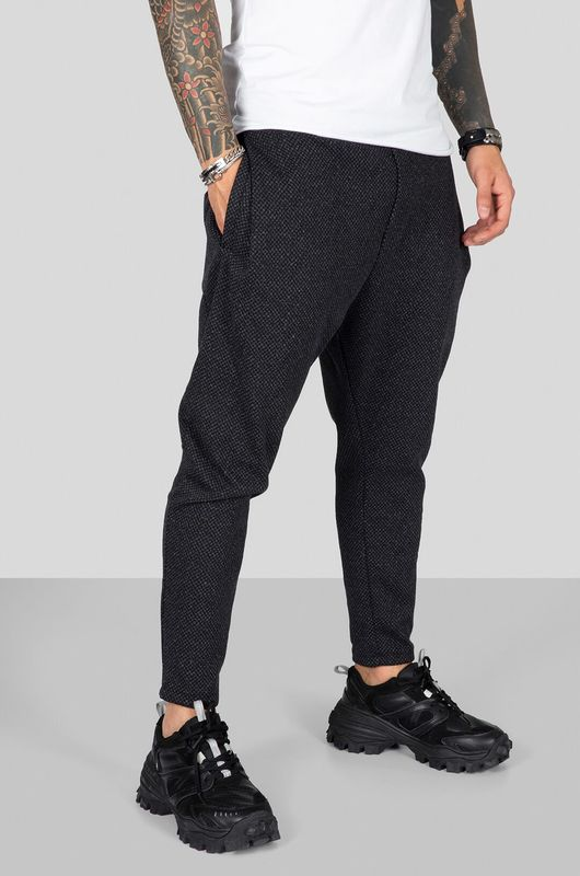 URBAN JOGGER PANTS BLACK 2311 (1)