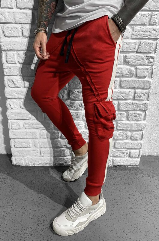 - JOGGER PANTS RED 1049 (1)