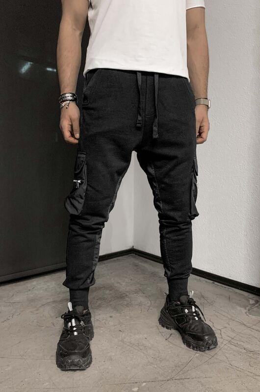 Black Island - URBAN JOGGER PANTS BLACK 1069 (1)