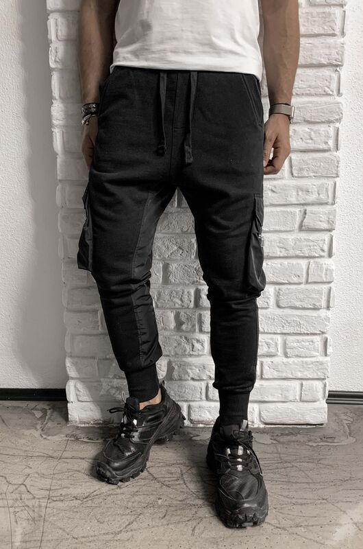 URBAN JOGGER PANTS BLACK 1069 (4)