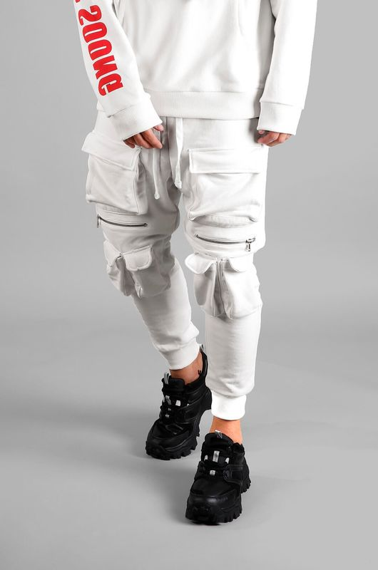 URBAN JOGGER PANTS WHITE 1027 (1)