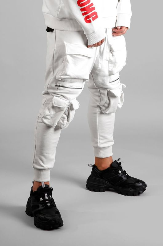 - URBAN JOGGER PANTS WHITE 1027 (1)