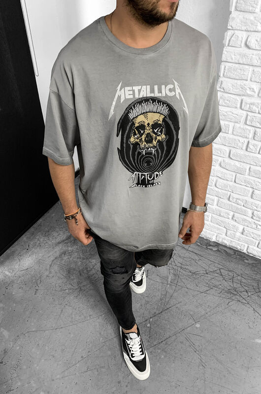 Black Island - METALLICA GREY T-SHIRT 1-1138 (1)