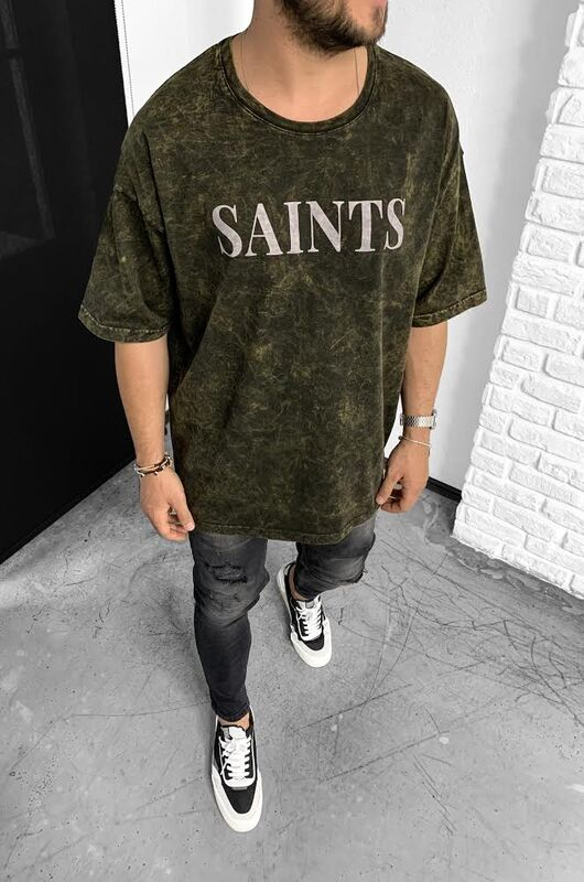 Black Island - SAINTS MUSTARD T-SHIRT 1-1139
