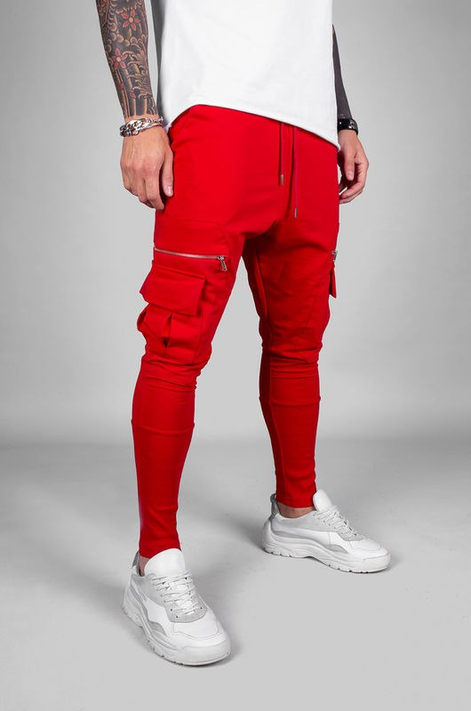 URBAN JOGGER PANTS RED 18040 (3)