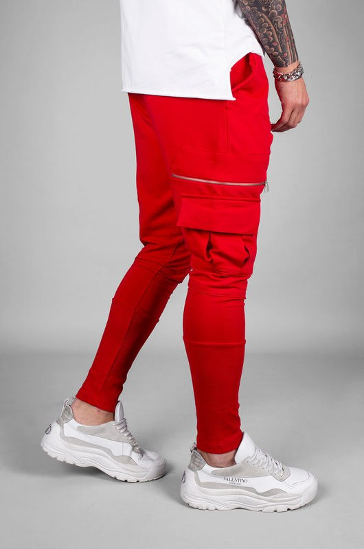 - URBAN JOGGER PANTS RED 18040 (1)