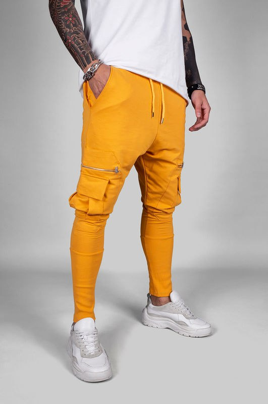 URBAN JOGGER PANTS YELLOW 18040 (3)