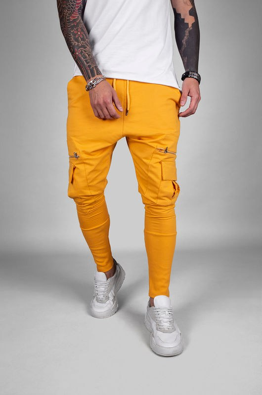 URBAN JOGGER PANTS YELLOW 18040 (4)