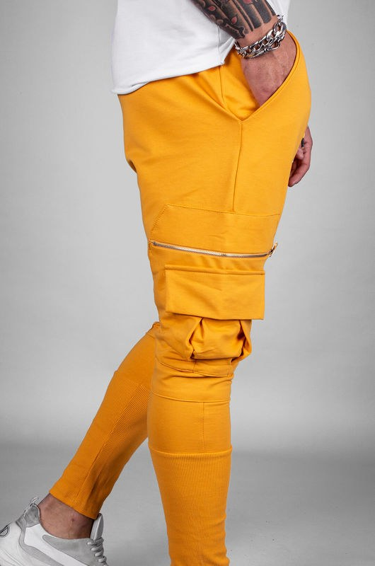 - URBAN JOGGER PANTS YELLOW 18040 (1)
